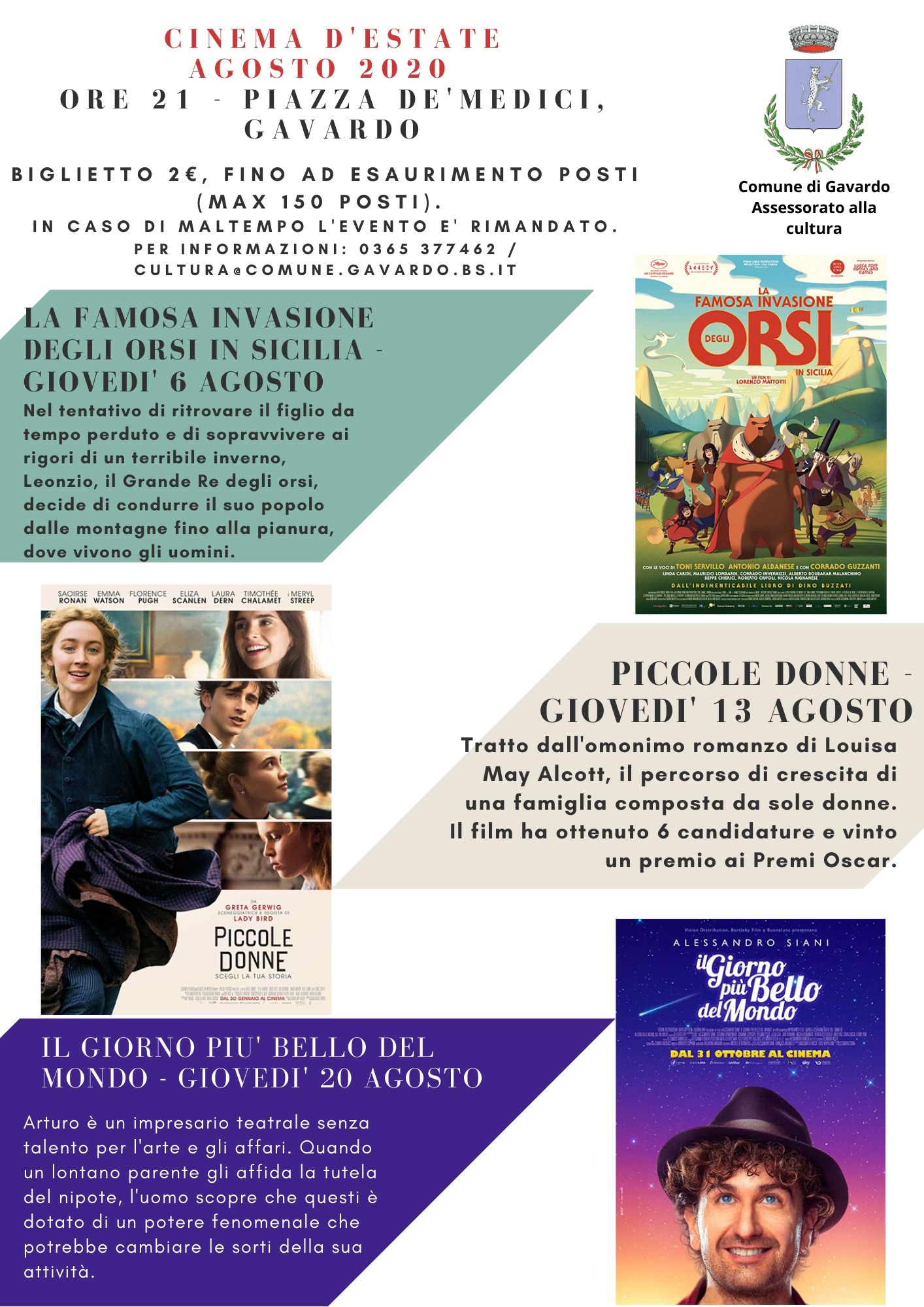 Cinema all\'aperto